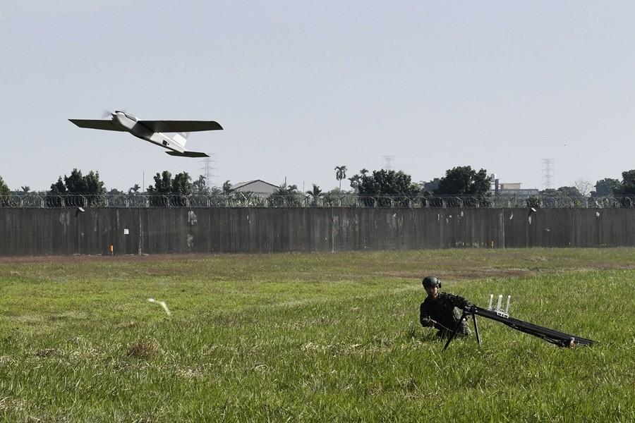 台灣開發「自殺」無人機 因應中共軍事威脅