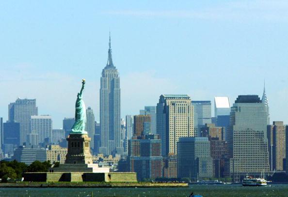 美國經濟與金融之都——紐約。(Chris Hondros/Getty Images)