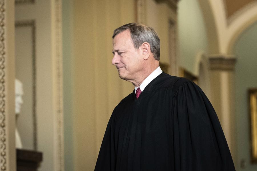 舒默:羅伯茨拒絕主持二度彈劾特朗普審判