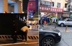【現場影片】武漢江漢路忽封閉 江夏菜場疑現病例