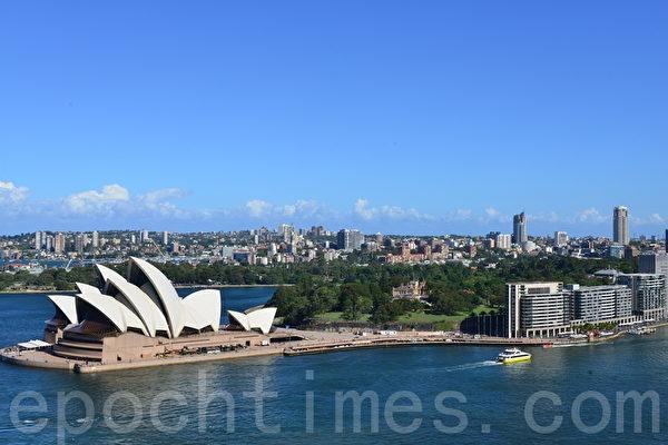 1999年是李洪志先生第三次蒞臨澳洲悉尼講法。(簡玬沐/大紀元)