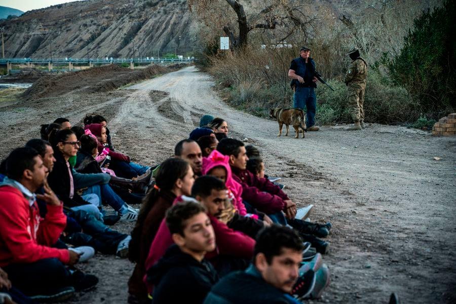 美墨邊境舉家及兒童孤身偷渡月增長超100%