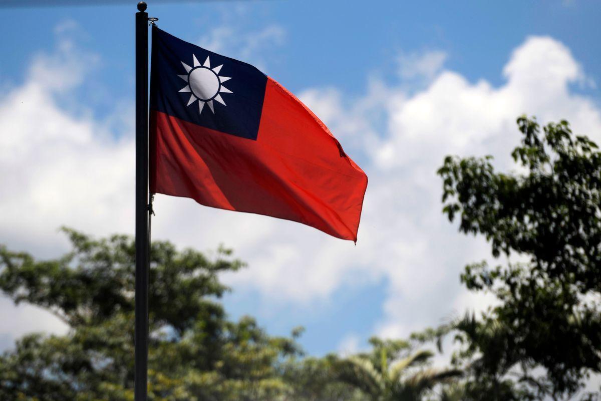 圖為台灣國旗。(MARVIN RECINOS/AFP via Getty Images)