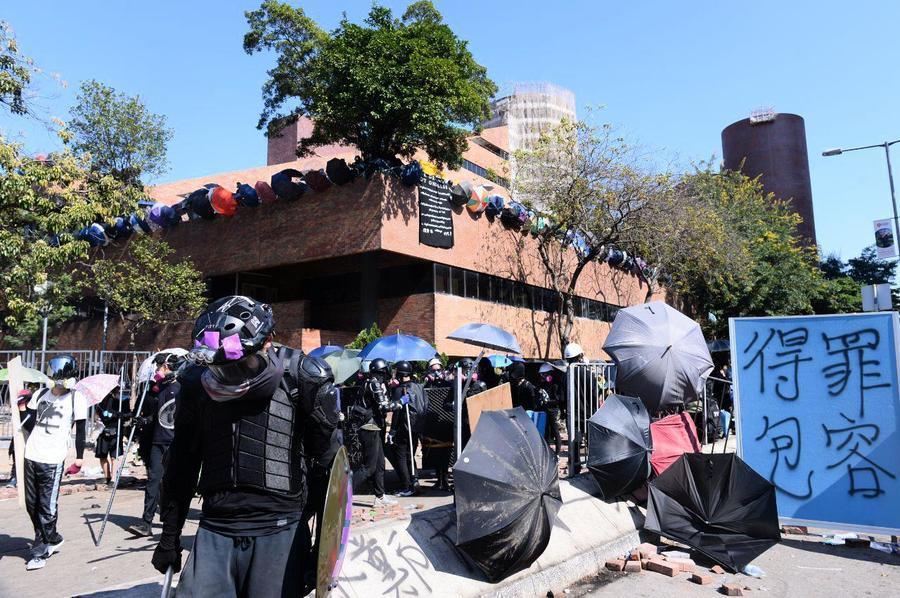 香港校園保衛戰 校外團結一致「圍魏救趙」