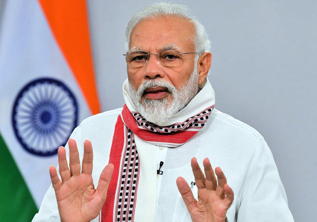 印度總理莫迪。(Photo by Handout / PIB / AFP/ INDIAN PRESS INFORMATION BUREAU)