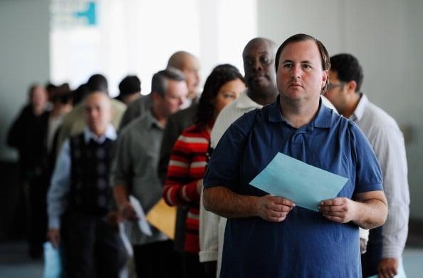 美國勞工部將於週二(1月8日)對外公布從本月初開始統計的最新職位空缺數據。此前,在上週公布的數據顯示,12月份就業增長大幅上升。( Kevork Djansezian/Getty Images)