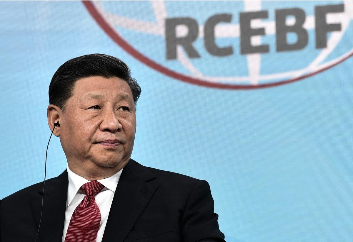 中國國家主席習近平。(Alexey NIKOLSKY/SPUTNIK/AFP)