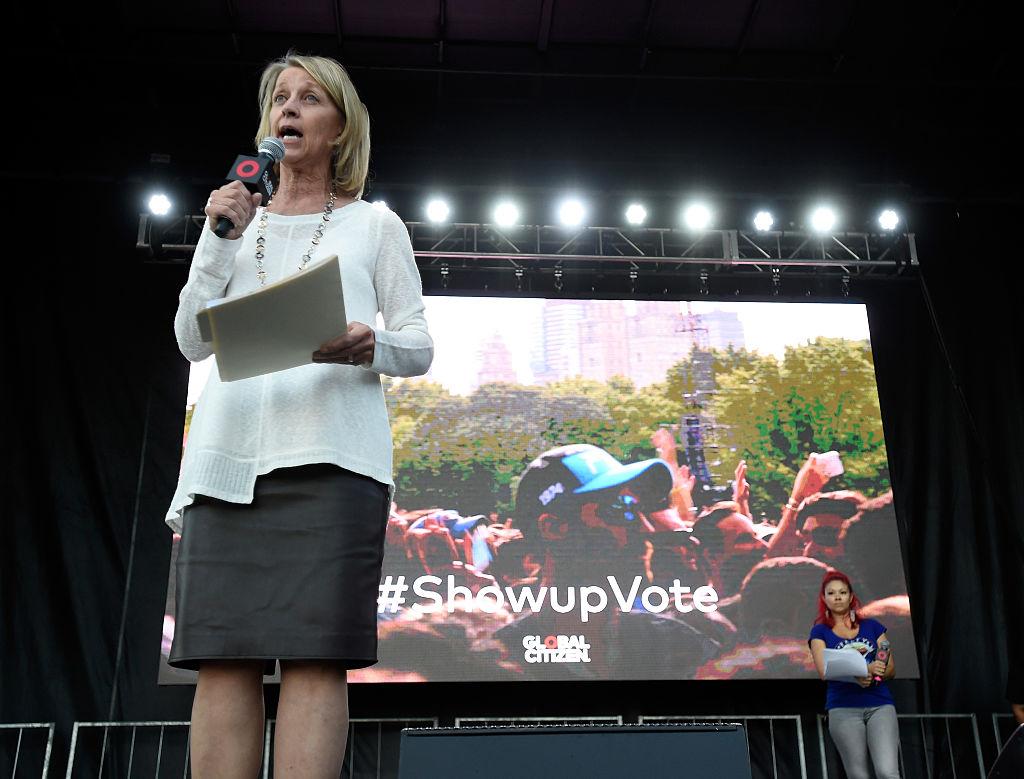 美國共和黨籍的內華達州務卿巴巴拉‧塞格夫斯克(Barbara Cegavske)。(David Becker/Getty Images for Global Citizen)