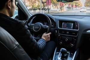 大陸產奧迪疑致癌 受害車主發佈檢測影片