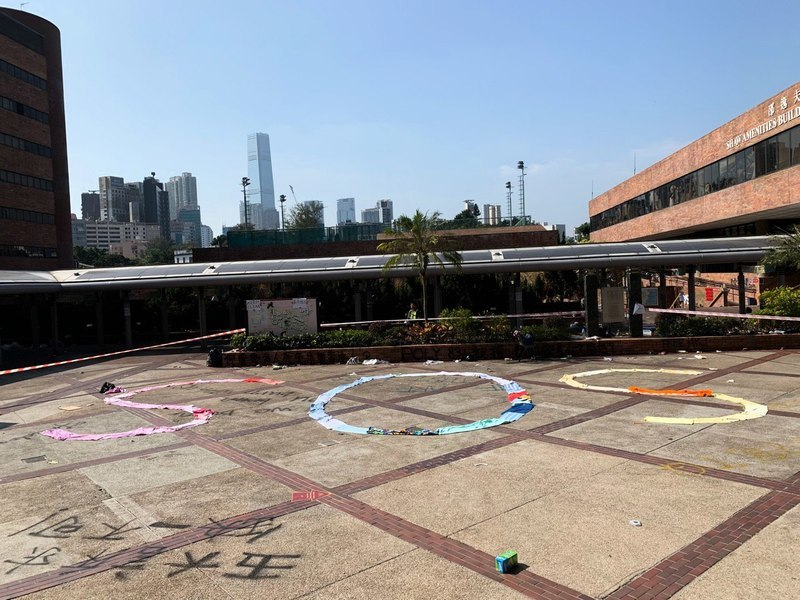 強攻香港校園後 傳警方全城大搜捕