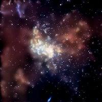 科學家發現極久遠時代最強黑洞碰撞
