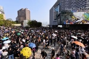 法媒:在港法國人見證和平抗爭 支持港人