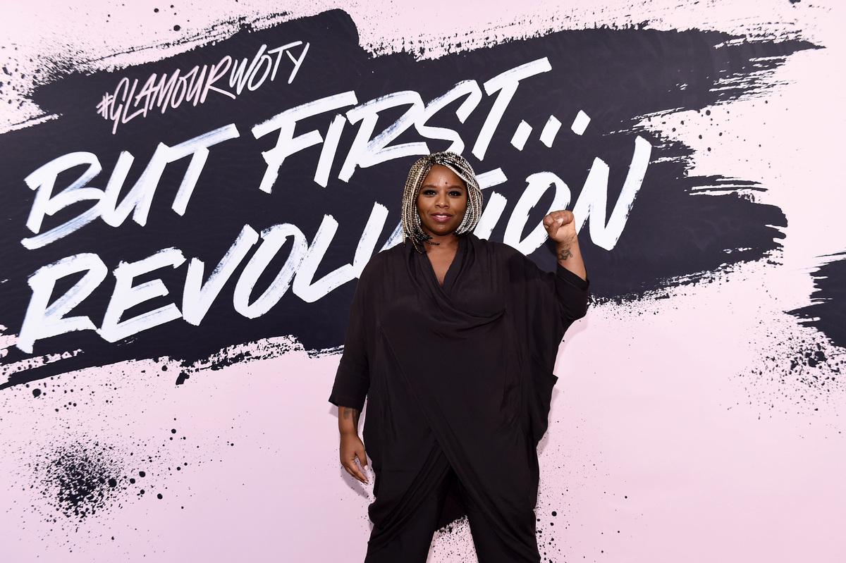 卡洛斯2017年11月13日在紐約布碌崙博物館慶祝獲評「2016年度女性」。(Ilya S. Savenok/Getty Images for Glamour)