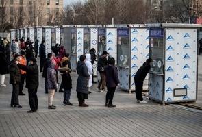 組圖:疫情升級 48小時北京2百萬人測試