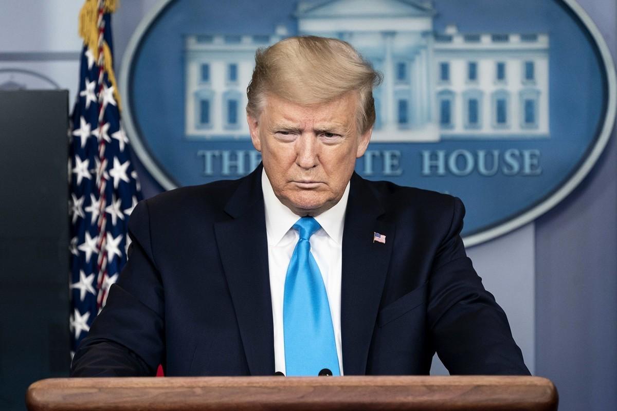 中共隱瞞致全球疫情蔓延,美國總統特朗普也感染中共病毒。(Official White House Photo by Andrea Hanks)
