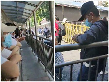 2021年6月10日北京國家信訪局已經沒甚麼訪民。(64天網/大紀元合成)