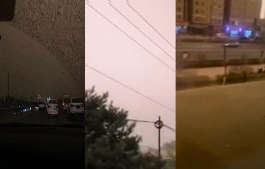 最近四天 新疆內蒙古等多地再現沙塵天氣