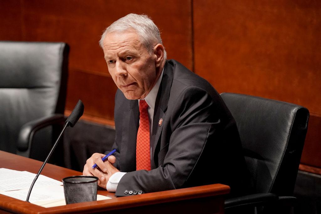 美國科羅拉多州共和黨籍議員肯·巴克(Ken Buck)5月10日表示,不能忽視中共對台灣人民的險惡威脅,資料照。(Greg Nash-Pool/Getty Images)