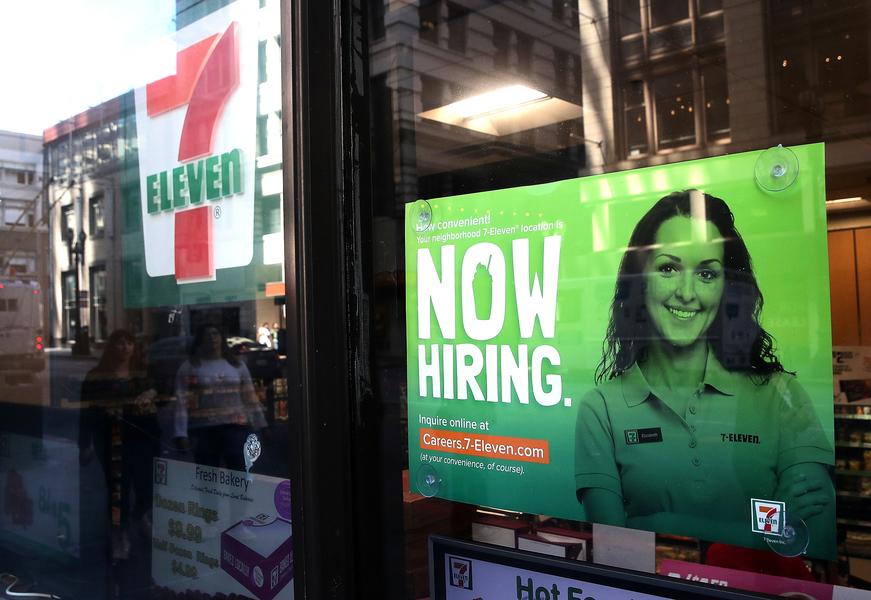 美十月創佳績 新增25萬工作 工資增幅破3%