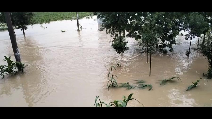 河南四水庫洩洪淹村 兩千村民被困無救援