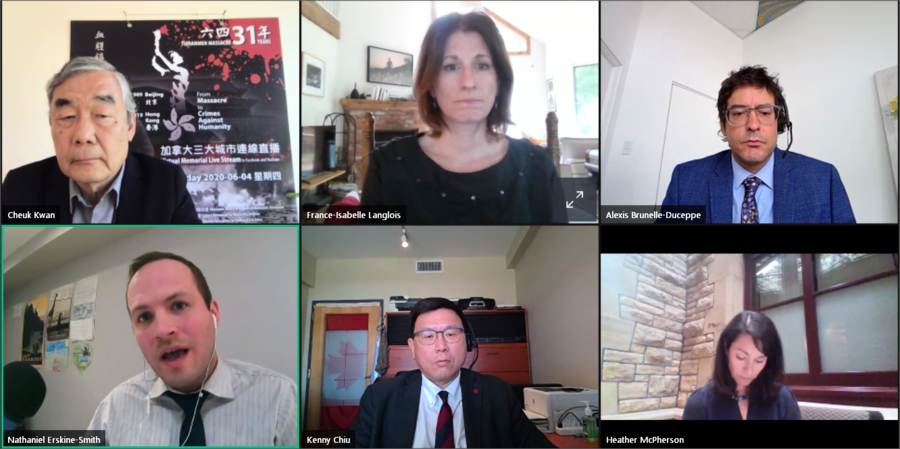 加拿大四黨議員表態 譴責中共壓制香港
