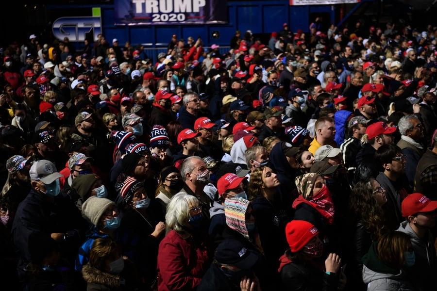 特朗普集會 出現眾多民主黨人和中間派