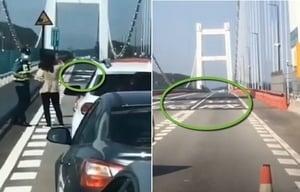 【現場影片】廣東虎門大橋異常抖動 附近封航