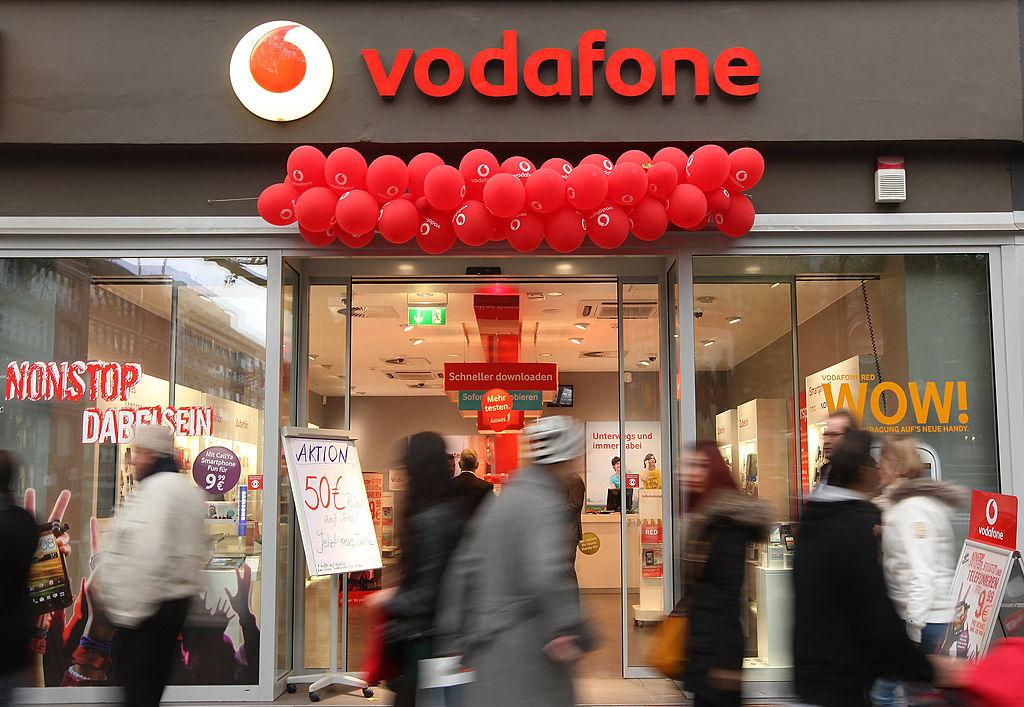 由美國支持的Vodafone Group(沃達豐財團)擊敗了中共支持的對手,贏得了打造埃塞俄比亞5G網絡的合同。(Adam Berry/Getty Images)