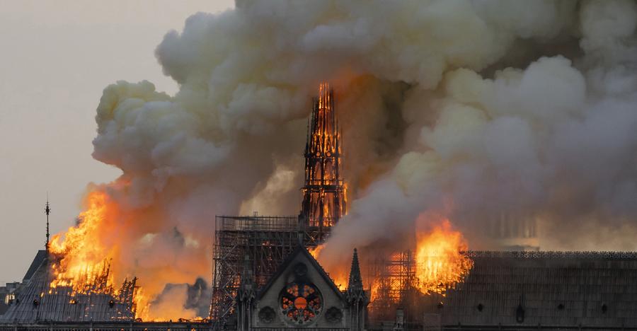 關鍵15-30分鐘 消防員如何保住巴黎聖母院