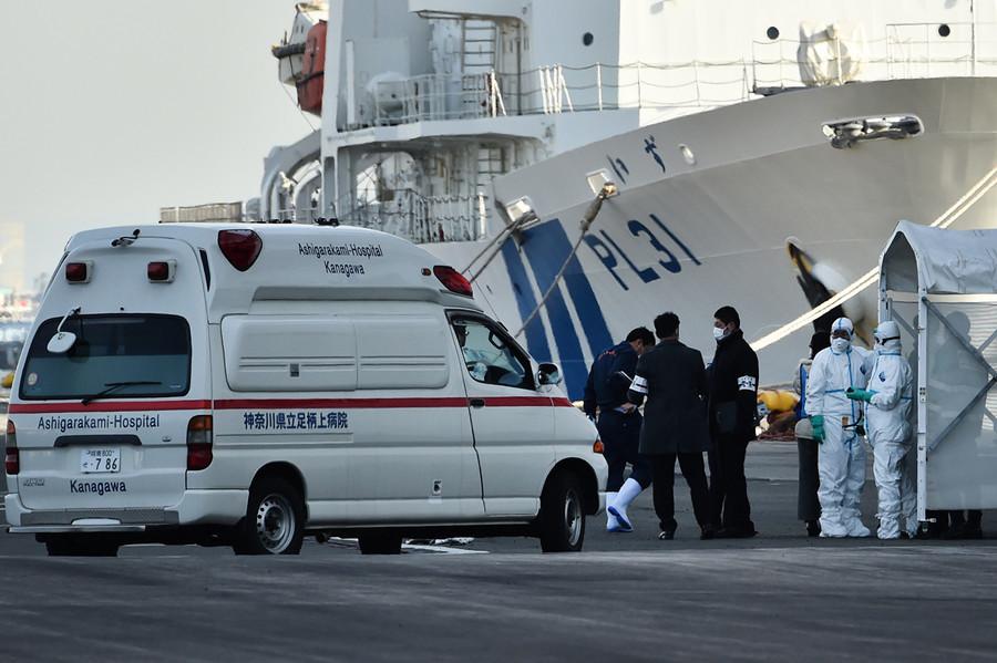 日本厚勞省職員染中共肺炎 曾登上鑽石公主號