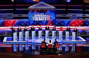 對中共關係上 美民主黨總統參選人態度強硬