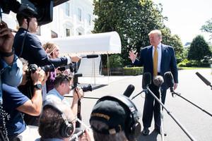 特朗普:下周一制裁伊朗 不排除軍事行動