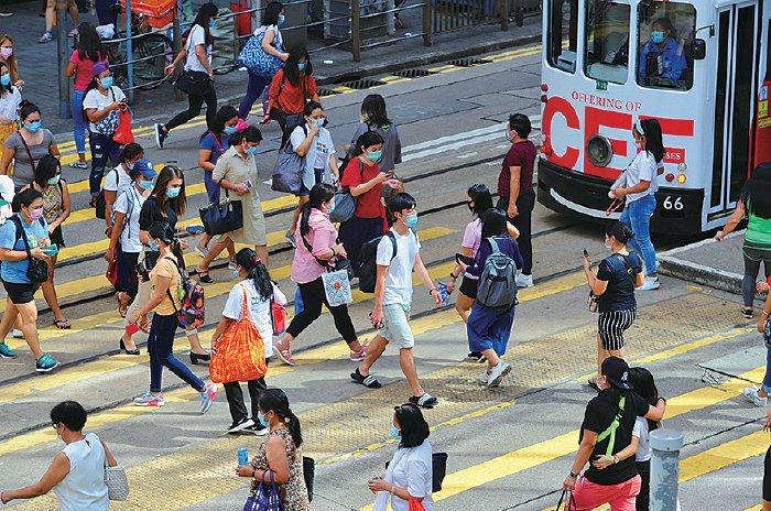 中共在香港強推港版國安法,促使香港菁英紛紛移民他國。(大紀元資料圖片)