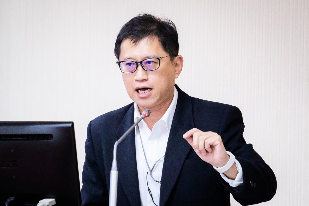 圖為台灣民主實驗室研究員宋承恩出席。資料圖(陳柏州/大紀元)