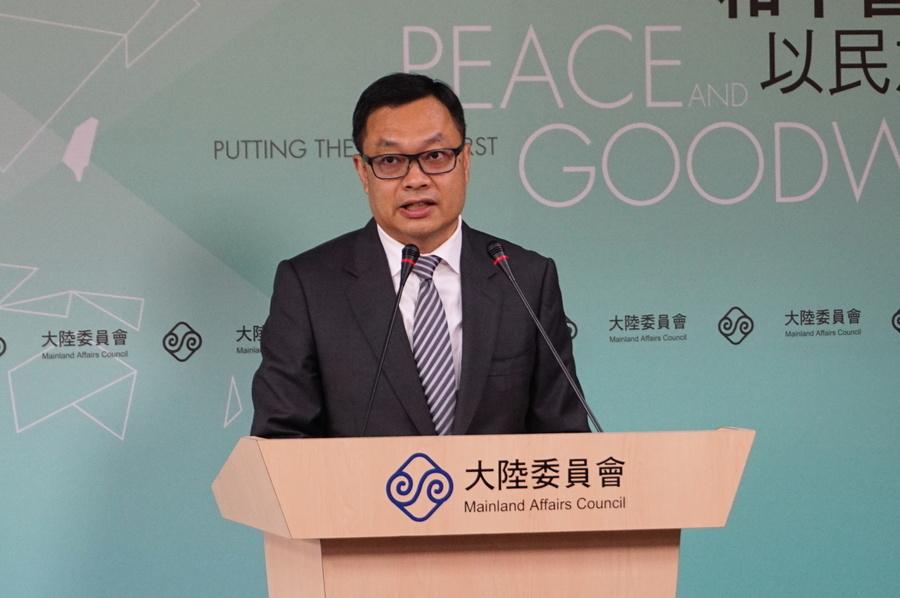 中共國台辦否認操控台媒 陸委會批中共統戰