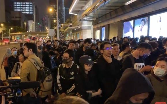 【12.15反暴政直播】梁凌杰墜亡半年 港人自發悼念