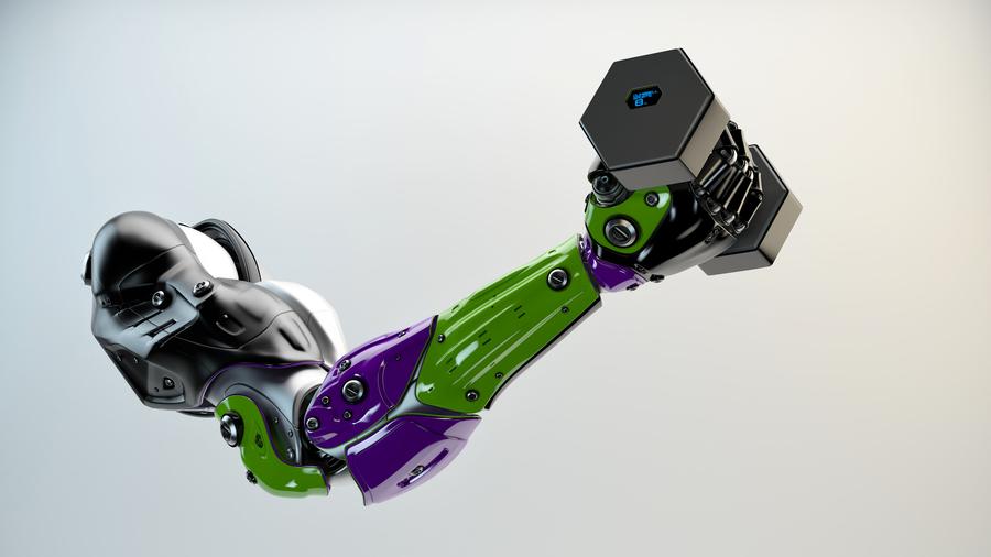 新型「塑料肌肉」可舉起自身五千倍重量