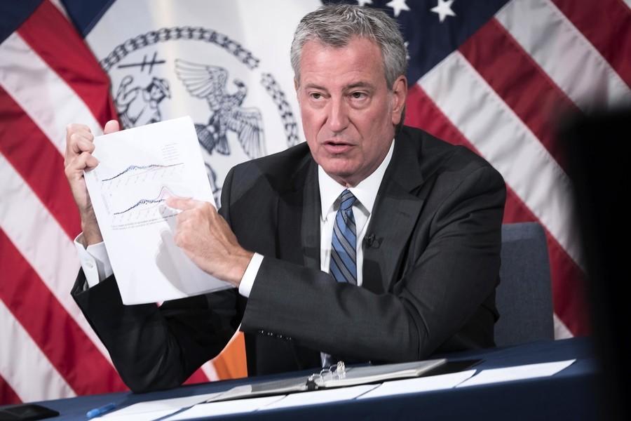 紐約Delta病例佔七成 市長不考慮恢復室內口罩令