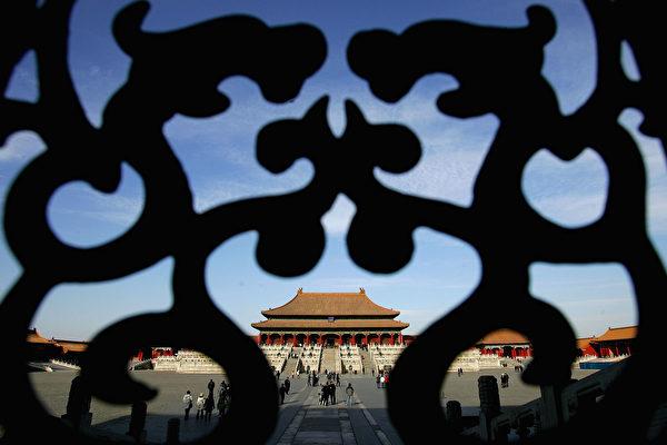 圖為北京紫禁城。(Guang Niu/Getty Images)