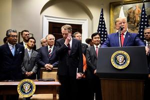 白宮確認周四貿易談判 特朗普:傾向達大協議