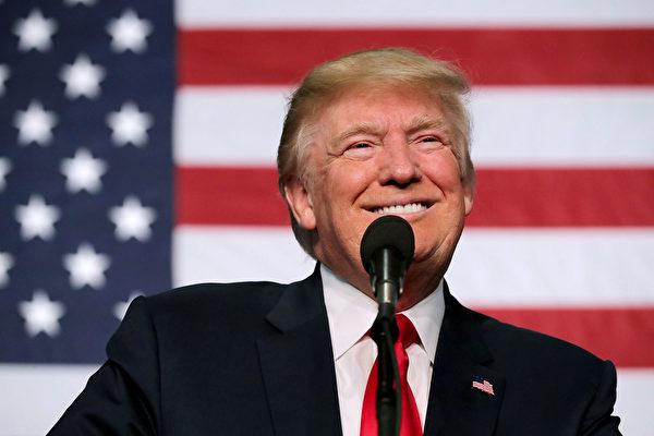新當選的美國總統特朗普。(Chip Somodevilla/Getty Images)