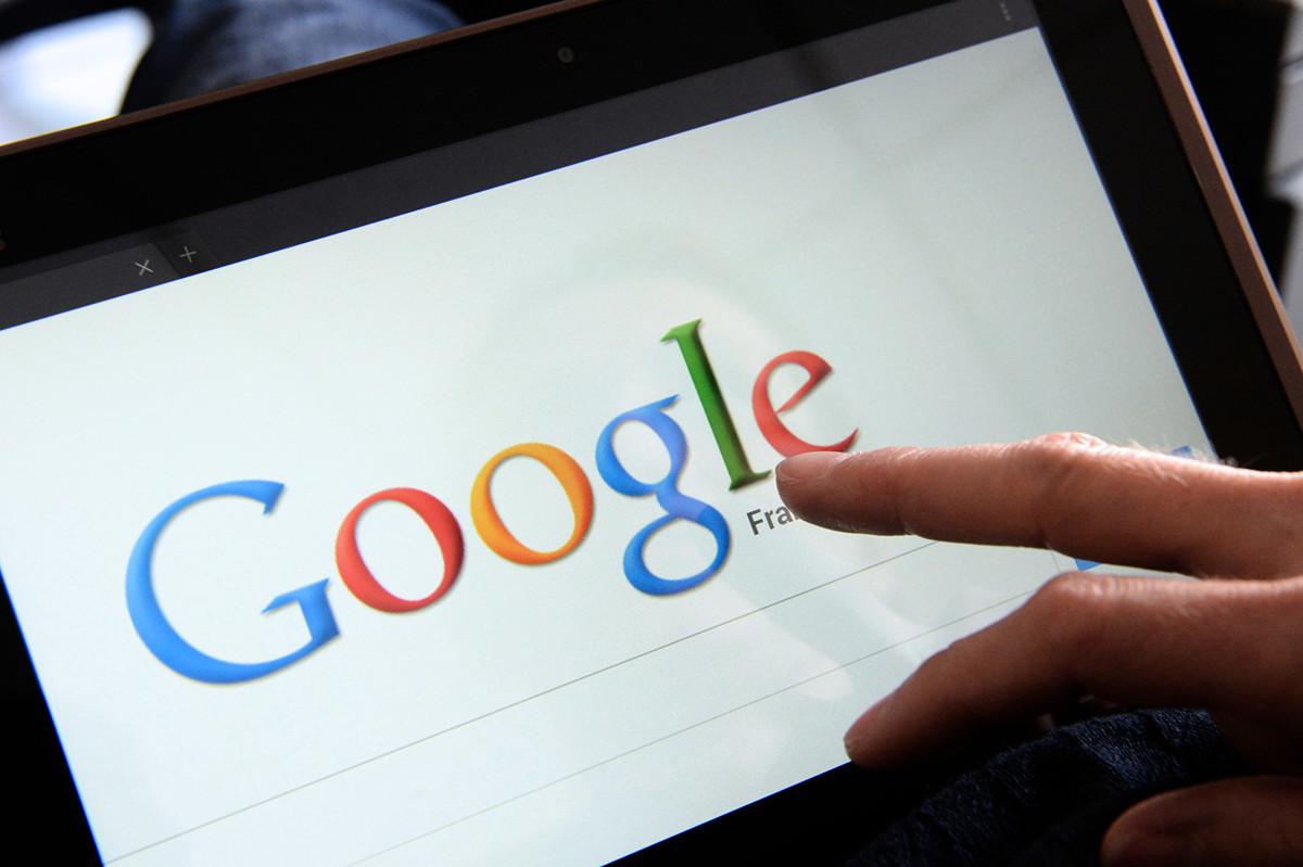 美國司法部2020年10月20日對谷歌提出反壟斷訴訟。圖為谷歌搜尋引擎。(DAMIEN MEYER/AFP/Getty Images)