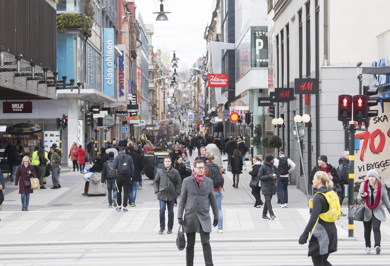 組圖:瑞典確診數居北歐之首 防疫政策遭批