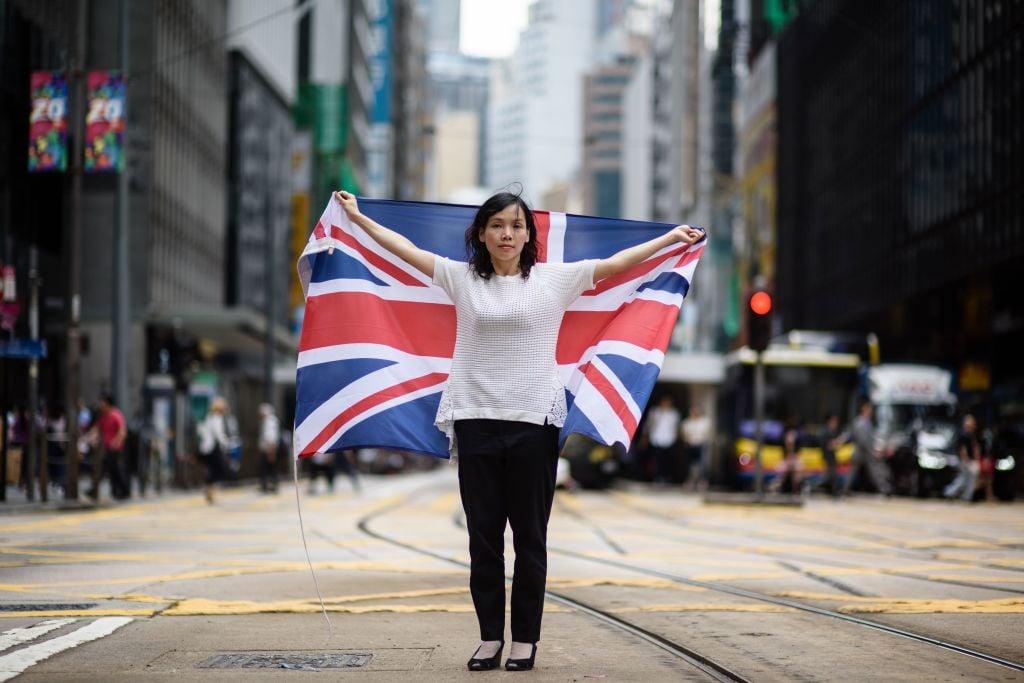 英國媒體認為英國有道義上的責任,應該站起來抵抗中共,保護香港民眾。(ANTHONY WALLACE/AFP via Getty Images)