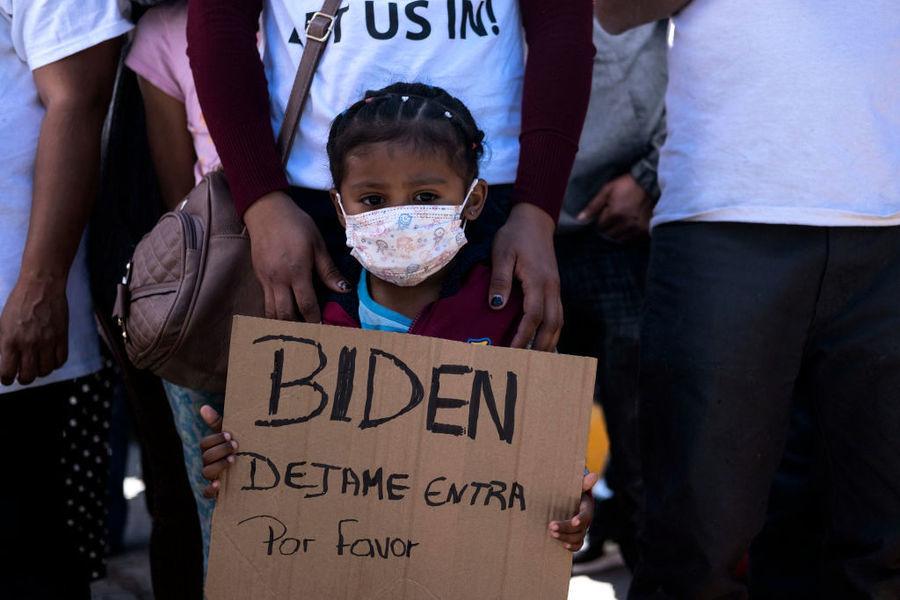 拜登稱邊境存兒童難民危機 白宮再次否認