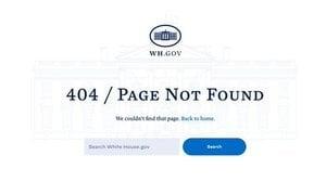 拜登撤下白宮網站的1776委員會網頁