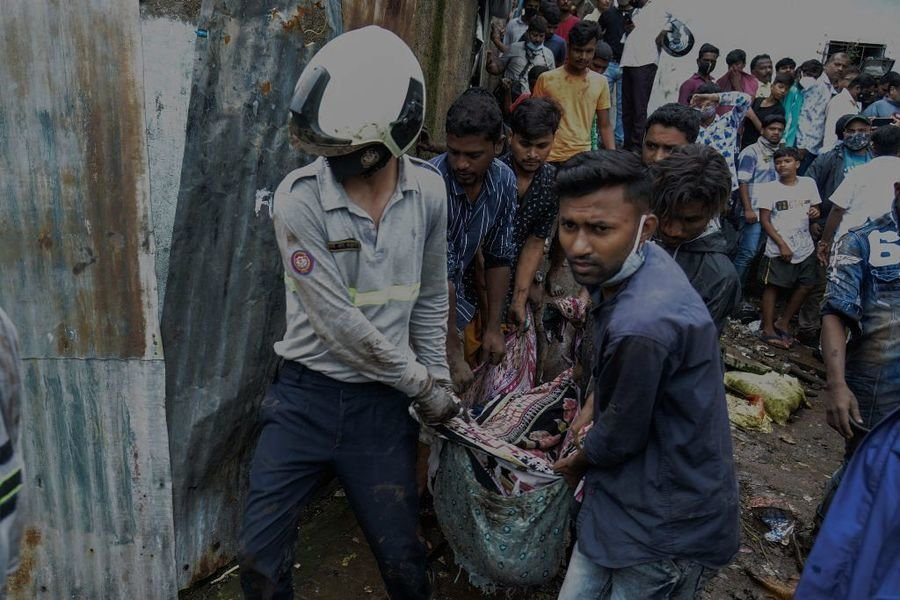 孟買暴雨引發山泥傾瀉  至少30人死亡