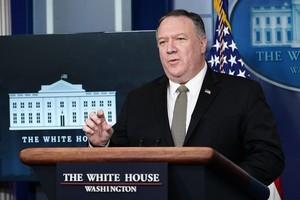 蓬佩奧:針對中共 美國有一長串行動在考慮