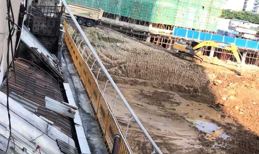 湖南常德政府逼遷 惡意施工將民房震成危樓