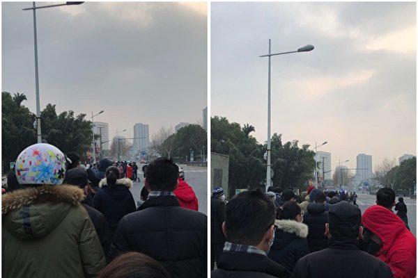 防口罩被搶購一空 上海定時定點限供三百人